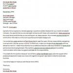 Contoh Surat Permohonan Kerja Bahasa English